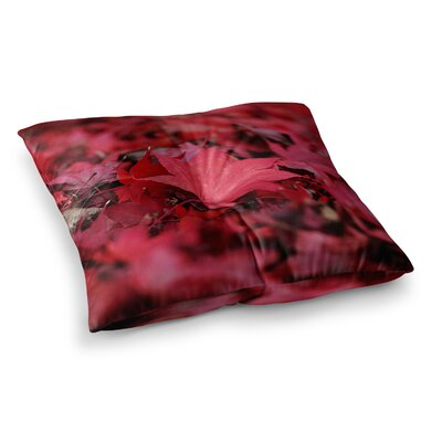 Leaves by Angie Turner Floor Pillow Size: 26 x 26
