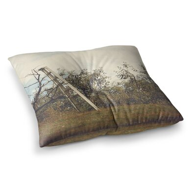 Apple Picking Photography by Angie Turner Floor Pillow Size: 26 x 26