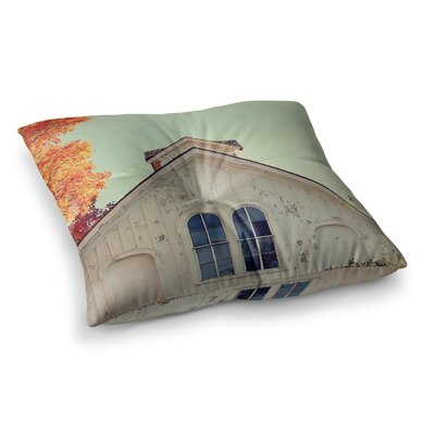 Fall Barn Top Photgraphy by Angie Turner Floor Pillow Size: 23 x 23