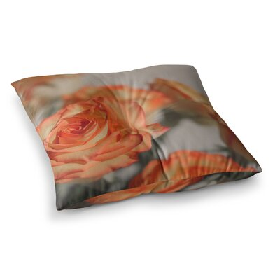 Roses Floral by Angie Turner Floor Pillow Size: 26 x 26