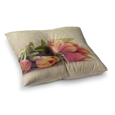Delicate Spring Photography by Angie Turner Floor Pillow Size: 23