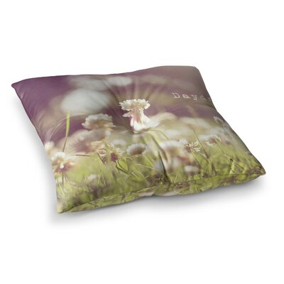 Daydream Floral by Angie Turner Floor Pillow Size: 26