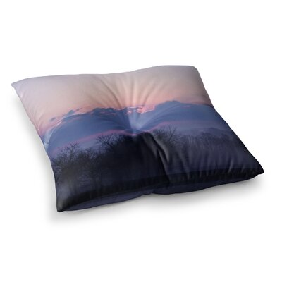 Sunrise by Angie Turner Floor Pillow Size: 26 x 26