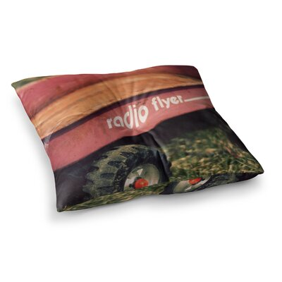 Radio Flyer by Angie Turner Floor Pillow Size: 23 x 23
