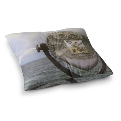 Ocean View by Angie Turner Floor Pillow Size: 26 x 26