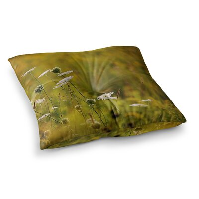 Hour Digital Nature by Angie Turner Floor Pillow Size: 26 x 26
