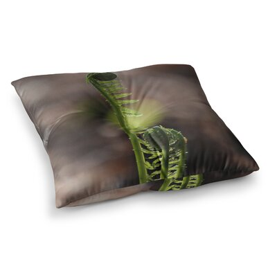 Fern Top Nature by Angie Turner Floor Pillow Size: 23 x 23