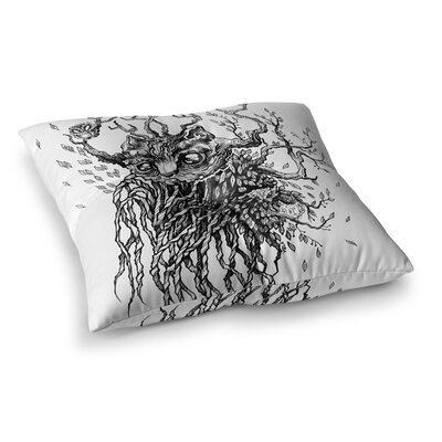 Forest Spirit Nature by Anya Volk Floor Pillow Size: 23 x 23