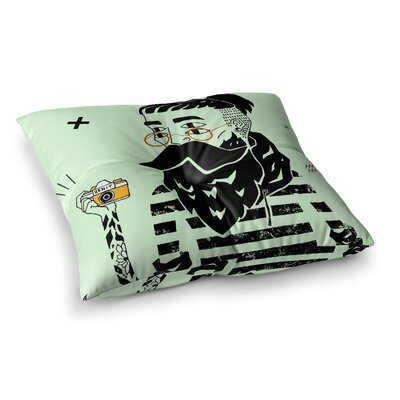 Dreamer 3 by Anya Volk Floor Pillow Size: 26 x 26