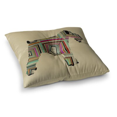 Schuavzer by Bri Buckley Floor Pillow Size: 23 x 23