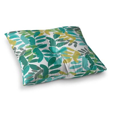 Charming Nature by Bridgette Burton Floor Pillow Size: 26 x 26