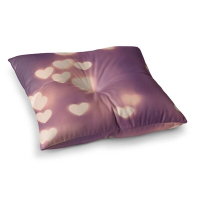 Your Love is Electrifying by Beth Engel Floor Pillow Size: 26 x 26
