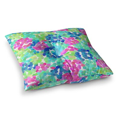 Flower Garden by Beth Engel Floor Pillow Size: 23 x 23