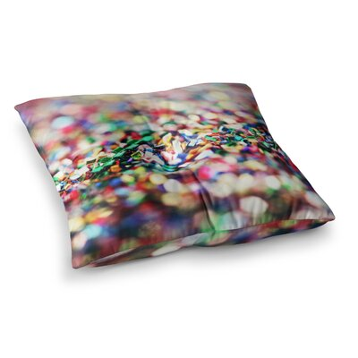 Celebrate by Beth Engel Floor Pillow Size: 26 x 26