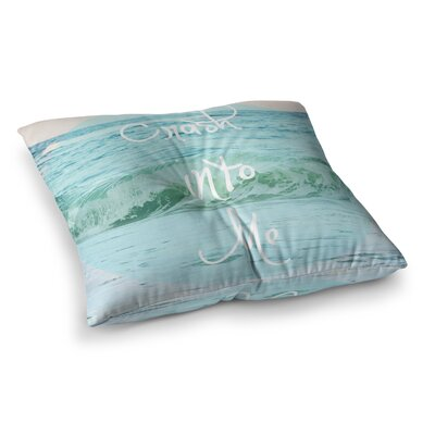 Crash Into Me by Beth Engel Floor Pillow Size: 26 x 26
