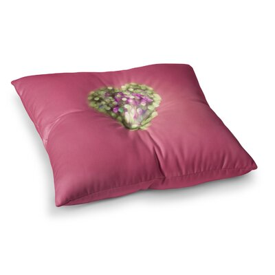 Make Your Love Sparkle by Beth Engel Floor Pillow Size: 23 x 23