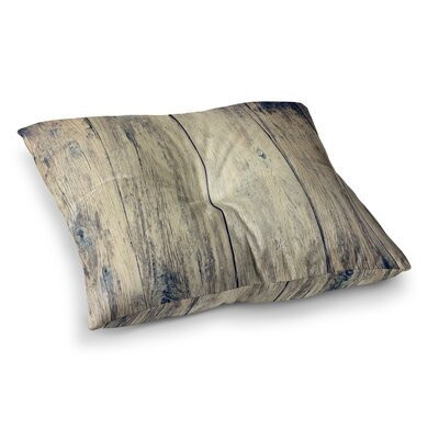 Wood Photography II by Beth Engel Floor Pillow Size: 23 x 23