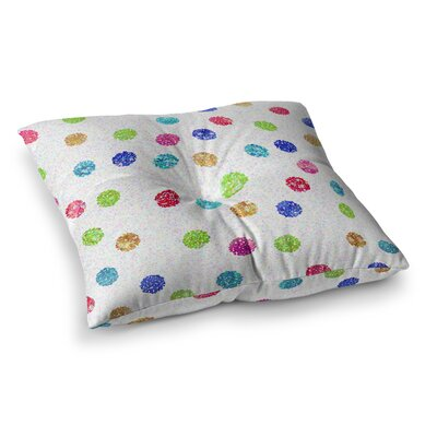 Seeing Dots by Beth Engel Floor Pillow Size: 23 x 23