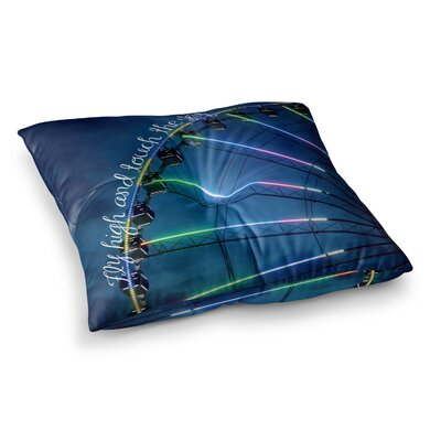 Fly High and Touch the Sky by Beth Engel Floor Pillow Size: 26 x 26