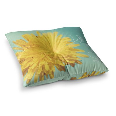 You are My Sunshine Flower by Beth Engel Floor Pillow Size: 26 x 26