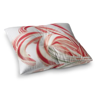 Line Up Holiday by Beth Engel Floor Pillow Size: 23 x 23