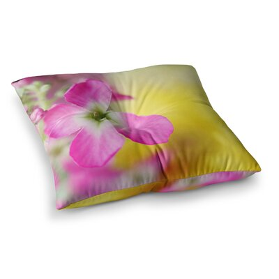 Lucky One Floral Photography by Beth Engel Floor Pillow Size: 23 x 23