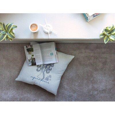 Aquarius by Belinda Gillies Floor Pillow Size: 26 x 26