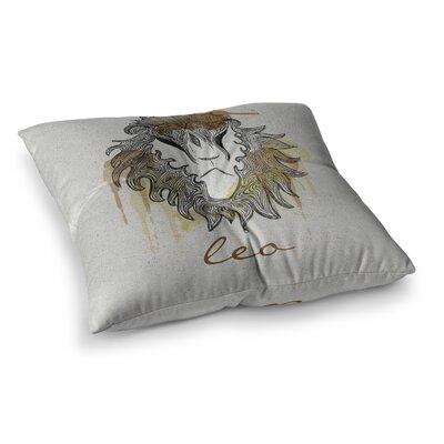 Leo by Belinda Gillies Floor Pillow Size: 26 x 26