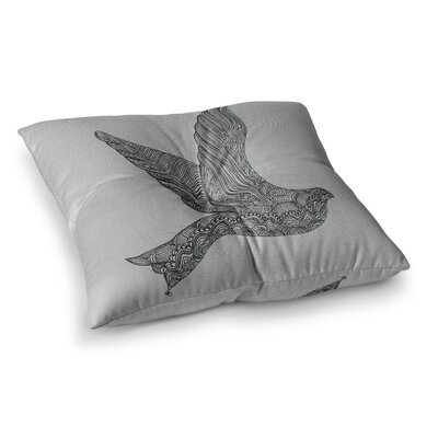 Dove by Belinda Gillies Floor Pillow Size: 23 x 23