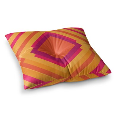 Diamond Dayze by Belinda Gillies Floor Pillow Size: 23 x 23