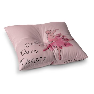 Ballerina by Brienne Jepkema Floor Pillow Size: 23 x 23
