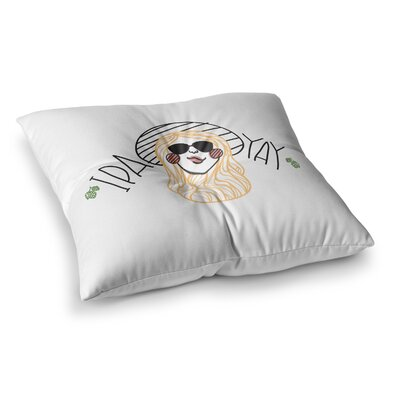 IPA YAY People by Busy Bree Floor Pillow Size: 26 x 26