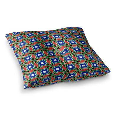 South Africa by Bruce Stanfield Floor Pillow Size: 26 x 26