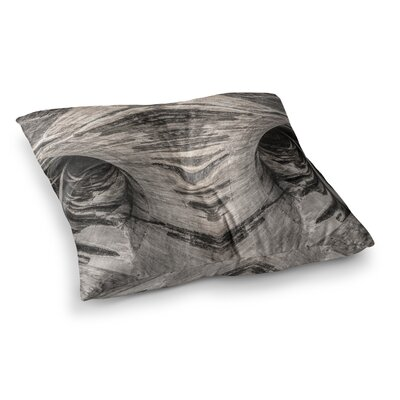 Dam Reticulation the Void by Bruce Stanfield Floor Pillow Size: 26 x 26