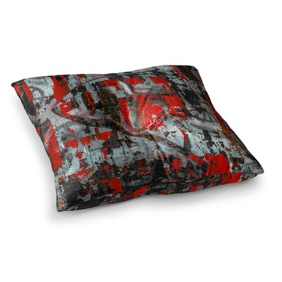 Zinger Abstract by Bruce Stanfield Floor Pillow Size: 23 x 23