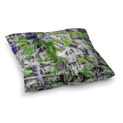 Life Through Adversity 2 Abstract by Bruce Stanfield Floor Pillow Size: 23 x 23