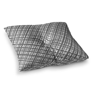 The Bauhaus Grid Digital by Bruce Stanfield Floor Pillow Size: 26 x 26