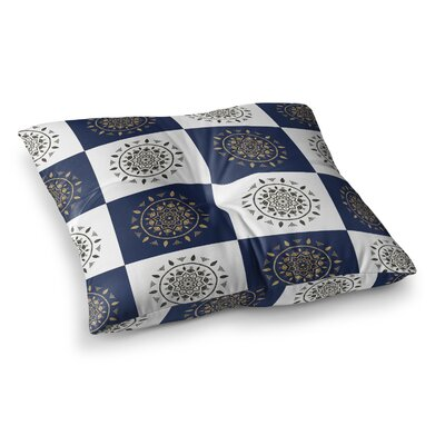 Mandalas by Cristina Bianco Design Floor Pillow Size: 23 x 23
