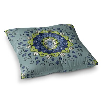 Mandala Geometric by Cristina Bianco Design Floor Pillow Size: 26 x 26