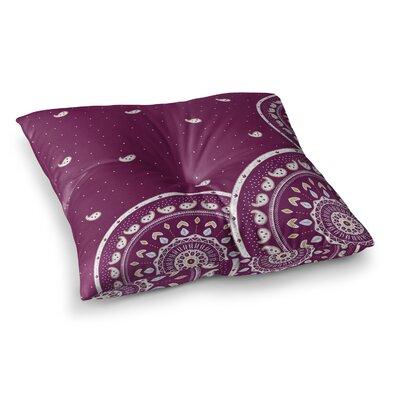 Mandalas Design by Cristina Bianco Design Floor Pillow Size: 26 x 26