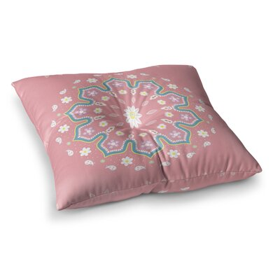 Mandala II by Cristina Bianco Design Floor Pillow Size: 23 x 23