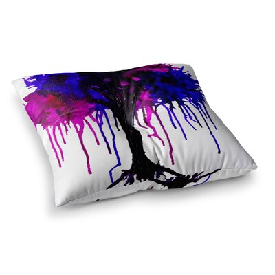 Weeping Willow by Claire Day Floor Pillow Size: 26 x 26