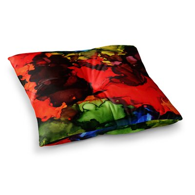 Beach Bum by Claire Day Floor Pillow Size: 23 x 23