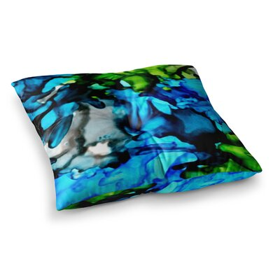 Chesapeake Bay by Claire Day Floor Pillow Size: 23 x 23