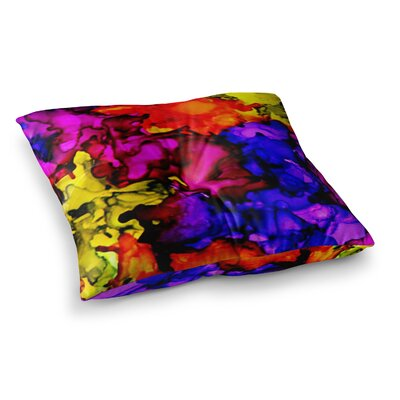 Chica by Claire Day Floor Pillow Size: 26 x 26
