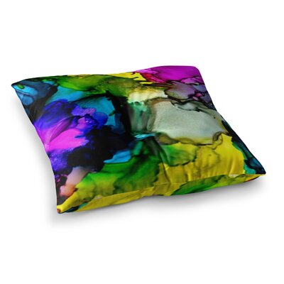 A Little Out There by Claire Day Floor Pillow Size: 23 x 23