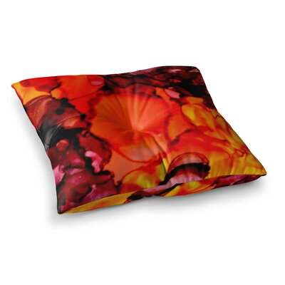 Mordor by Claire Day Floor Pillow Size: 26 x 26