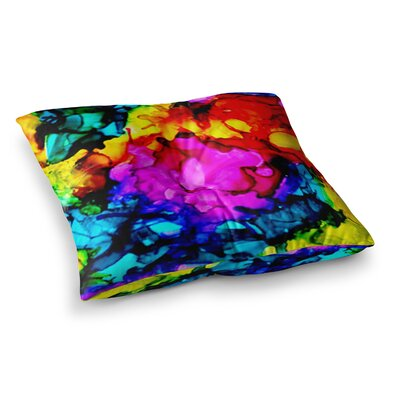 Sweet Sour by Claire Day Floor Pillow Size: 26 x 26