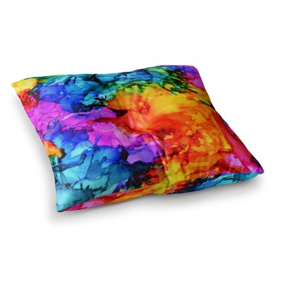 Sweet Sour II by Claire Day Floor Pillow Size: 23 x 23