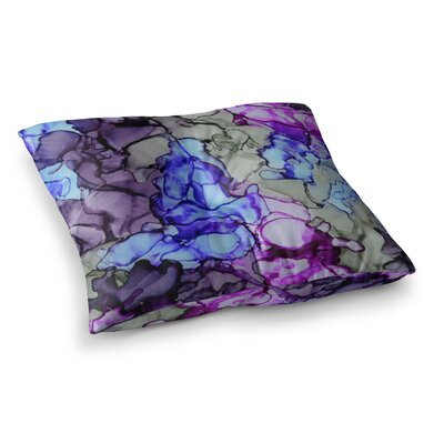 String Theory by Claire Day Floor Pillow Size: 23 x 23
